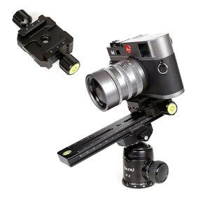 Image 2 - XILETU LSB 18B Uzatılmış Hızlı Bırakma Plaka Kiti 180mm Düğüm Slayt Tripod Ray Çok Fonksiyonlu Evrensel Fotoğraf Aksesuar