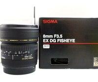 Sigma Fisheye 8 mm f / 3.5 EX DG Circular lente para Nikon