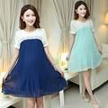 Одежда для беременных Беременность одежда Шифон беременных платья Беременная dress Беременных одежда одежда для беременных женщин