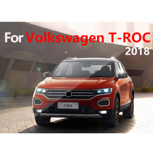 Image 5 - Car Dashboard Cover Mats Avoid light Pad Instrument Platform Desk Carpets Trim LHD For Volkswagen VW T ROC T ROC TROC 2017 2018