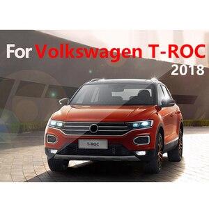 Image 5 - Garniture pour tableau de bord de voiture, tapis, pour éviter la lumière, pour Volkswagen VW T ROC T ROC TROC 2017 2018