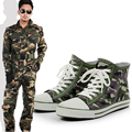 2017 New Design Men's Camouflage Fashion Ankle Rain Boots Male Winter Thermal Water Shoes Outdoor Waterproof Rubber Boots