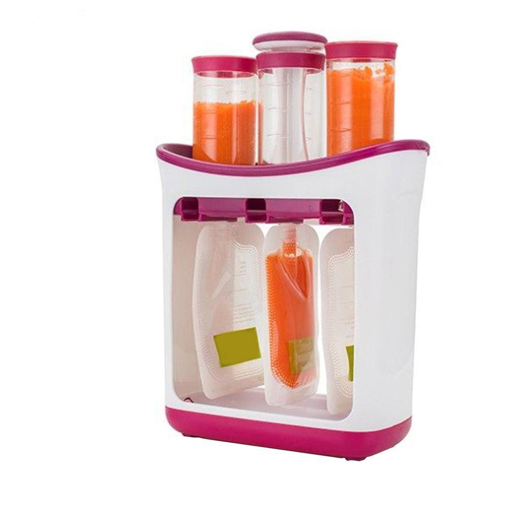 Children s Fruit Mashing Squeezing Household Kitchen Packing Machine Food Supplement Machine Food Storage Machine