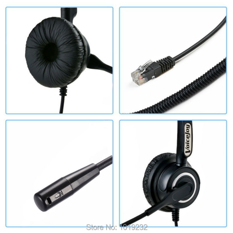US $23 79 32% OFF|Volume and Mute Headset with Mic ONLY for CISCO IP Phones  7960 7970 7821 7841 7861 8841 8851,8861 8941,8945,8961 etc-in