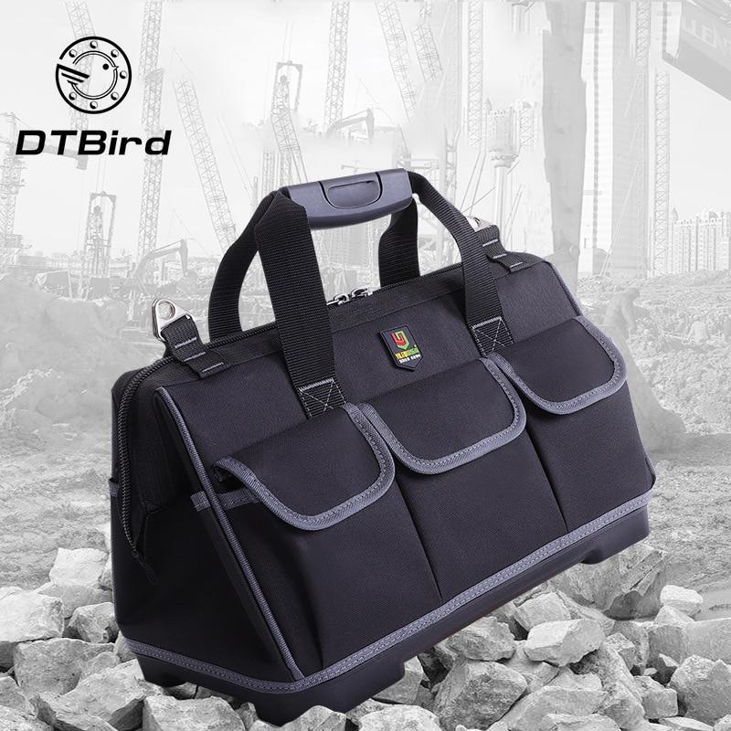 Portable Waterproof Tool Bags Large Capacity Bag Tools Multi-function Maintenance Installation Thickening Tool Bag Work Pocket
