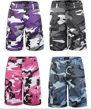 3d039e20bb Hip Hop Camuflagem OVERSIZE Shorts Homens Streetwear Casuais Shorts Soltos  Bolsos Laterais Moda Masculina Na Altura · 4 Cores Disponíveis