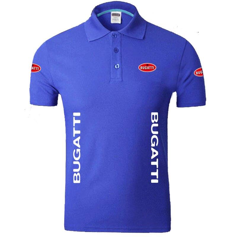 Summer Bugatti logo Men   Polo   Shirt Brand Clothing Cotton Casual Bugatti   Polo   Shirt Short Sleeve   Polo   Shirt