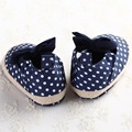 2016 Brand Cotton Moccasin Newborn Baby Girl Kids Prewalker Mary Jane Bow Bebe Shoes Infant Outdoor Toddler Soft Soled 3sizes