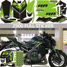 FASP Z900 full sticker Motorcycle Decal RR Modified vehicle decorate  protect High quality PVC Car stickers