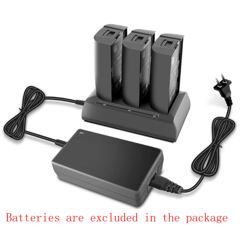 3in1 Parrot Bebop 2 Drone FPV Battery Charging Hub 12.6V 2A Balancing Fast Filling Discharger Portable Otdoor Charger For Parrot parrot minidrones series rolling spider mambo swing quadcopter drone parts fast charger jumping race sumo car battery charger