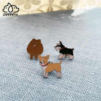 Pit Bull Terrier-broches de metal para hombre y mujer, broche con diseño de perro, alfileres de aleación color plateado, para ropa de fiesta