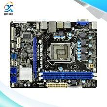 H61M-VS Original Used Desktop Материнских Плат Asrock H61 Сокет LGA 1155 Для i3 i5 i7 DDR3 16 Г USB2.0 Микро-ATX