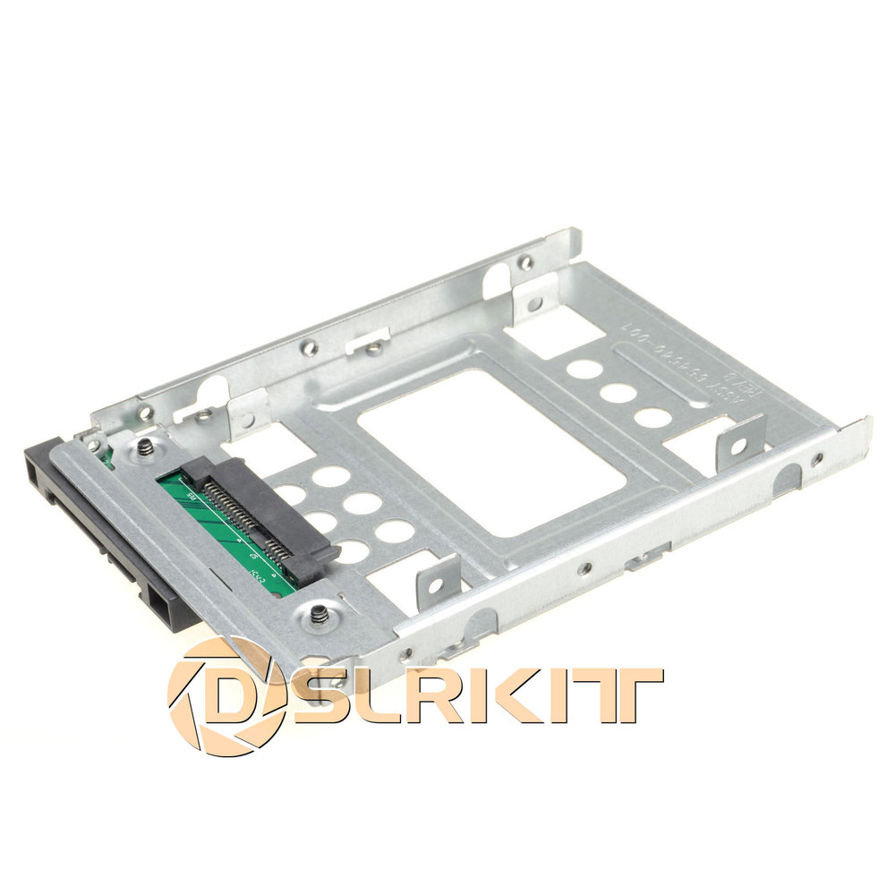 2.5 SSD SAS to 3.5 SATA Hard Disk Drive HDD Adapter CADDY TRAY Hot Swap Plug 5 25 to 3 5 sata sas hdd hard drive cage adapter tray caddy rack bracket for 3x 5 25 cd rom slot internal or external pc diy