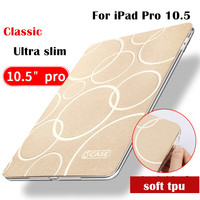 KAKU Jinsha Series Classic Magnet PU Leather Case Flip Cover For Apple IPad Pro 10 5