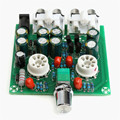 New Arrival AC12V/1A 2.0 6J1 Pre Amplifier Board Headphone Amplifier Buffer DIY