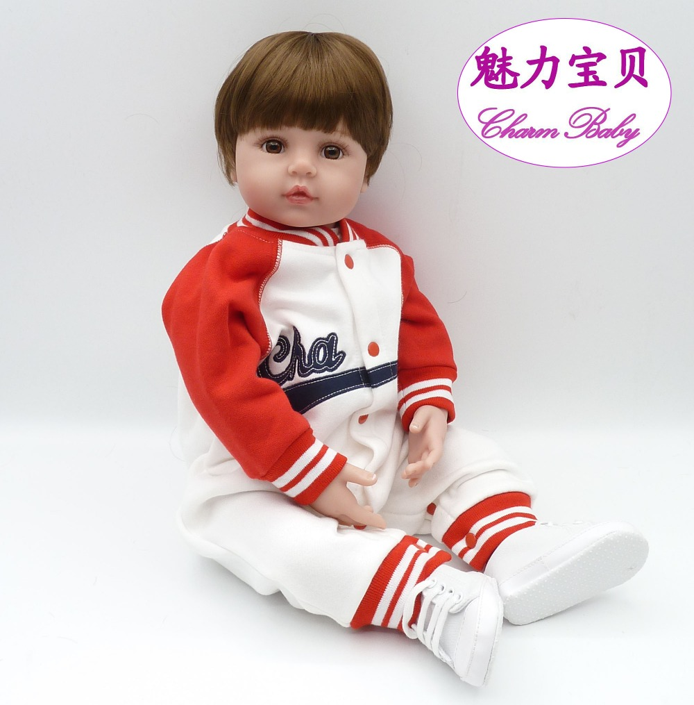 Rooted Hair Realistic Reborn Baby Dolls Smooth Silicone 22 55 cm Realistic Born Girl s CHRISTMAS
