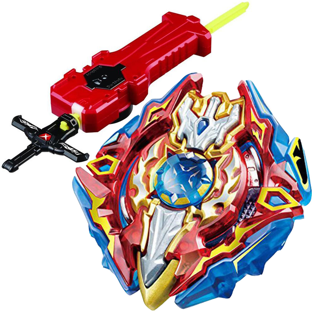 Original Spinning Top Burst B-92 Starter Sieg Excalibur.1.ir With Sword Launcher Anime Toy Gifts For Kids Anubis Gyro Patlamayan Top Pure And Mild Flavor Classic Toys