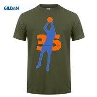 Возьмите дешевые футболки онлайн хип-хоп Кевин Дюрант KD Письмо Марка Дешевые Базовая футболка с коротким рукавом мужская черная
