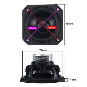 Image 4 - GHXAMP altavoz de gama completa de 3 pulgadas, de neodimio para coche, 4ohm, 25W, HIFI, portátil para ordenador de casa, Bluetooth, 2 uds.