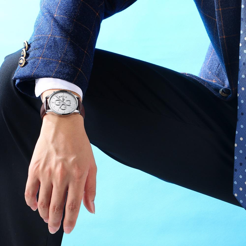 Relojes de hombre NIBOSI Relogio Masculino, relojes de pulsera de cuarzo de estilo informal de marca famosa de lujo para hombre, relojes de pulsera Saat 47