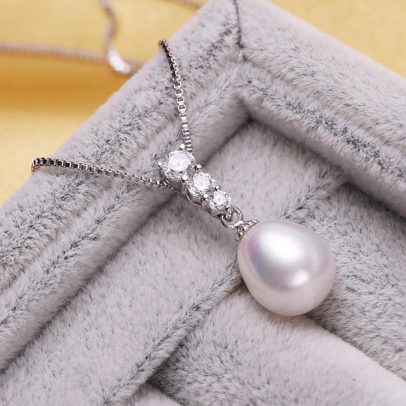 FENASY Collar de perlas naturales de Moda Conjunto de perlas - Joyas - foto 4