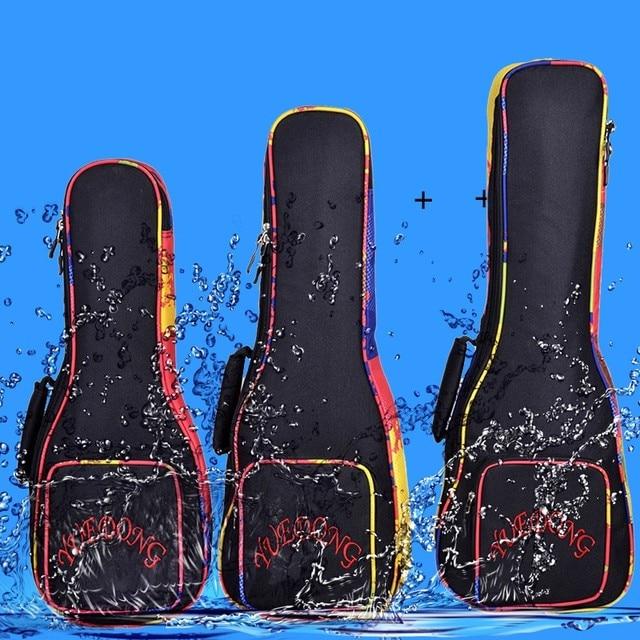21 23 24 26 inch soprano concert tenor ukulele bag uke backpack waterproof case portable soft gig padded pattern creative gifts