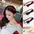 2016 Accesorios Lindos Del Pelo para Las Mujeres Hairbands Headwear Niñas Niños Adornos de Pelo Negro Azul Rojo Verano Estilo