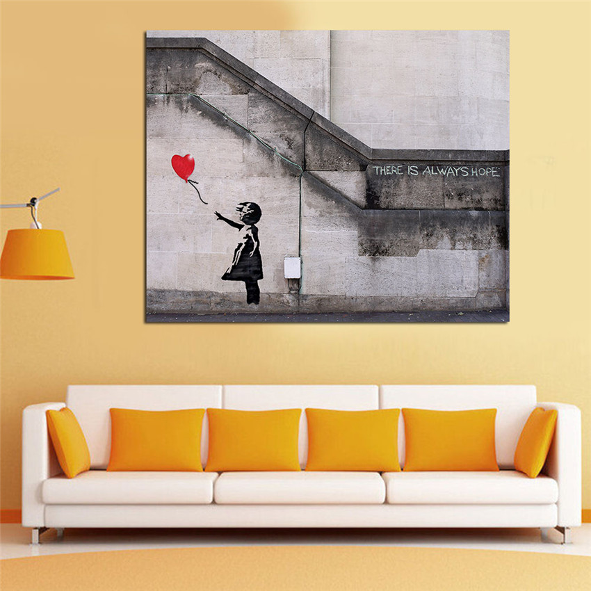 There Is Always Hope Paintings For Living Room Wall Modern Canvas ...