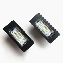 READXT 2Pcs Car Lights LED Number License Plate Light lamp accessories For E39 M5 E70 E71 E72 X5 X6 E60 M5 E82 E90 E92 E93 M3 error free led license plate light for bmw e82 e88 e90 e92 e39 e60 e61 m5 sedan e70 x5 e71 e72 x6 5 series