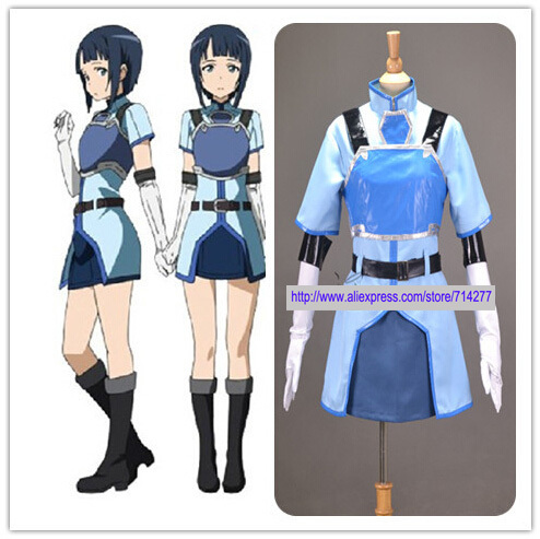 Custom Made Game Sachi Cosplay Costume from Sword Art Online Christmas  Halloween Carnival Costumes