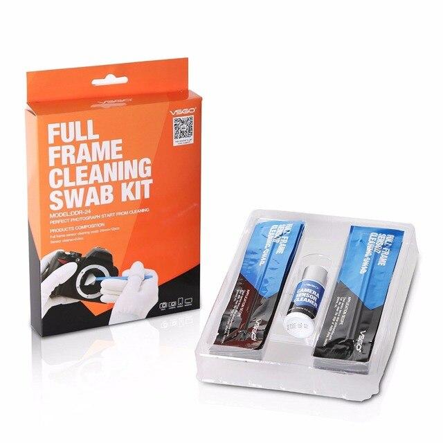 ¡ NUEVO! sensor de fotograma completo de limpieza hisopo hisopos 12 unids para salas blancas de espuma con el paquete vacío para dslr CCD de limpieza