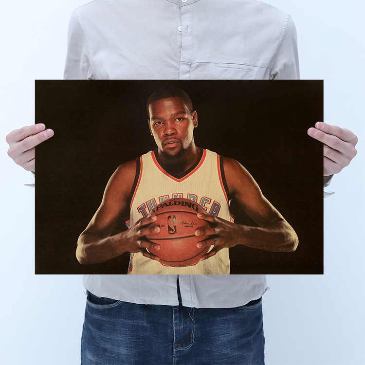 マイケル · ジョーダン神戸クーリーデュラント、あきらめること、スラムダンク、バスケットボールスポーツ/クラフトポスター/レトロポスター/装飾的な絵画