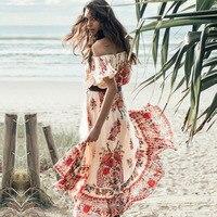Vestido De Festa Ucuz Giysiler Çin Vestidos De Dresses Yazdır yaz Elbise Uzun Seksi Kadın Elbise Artı Boyutu Parti Elbiseler 24