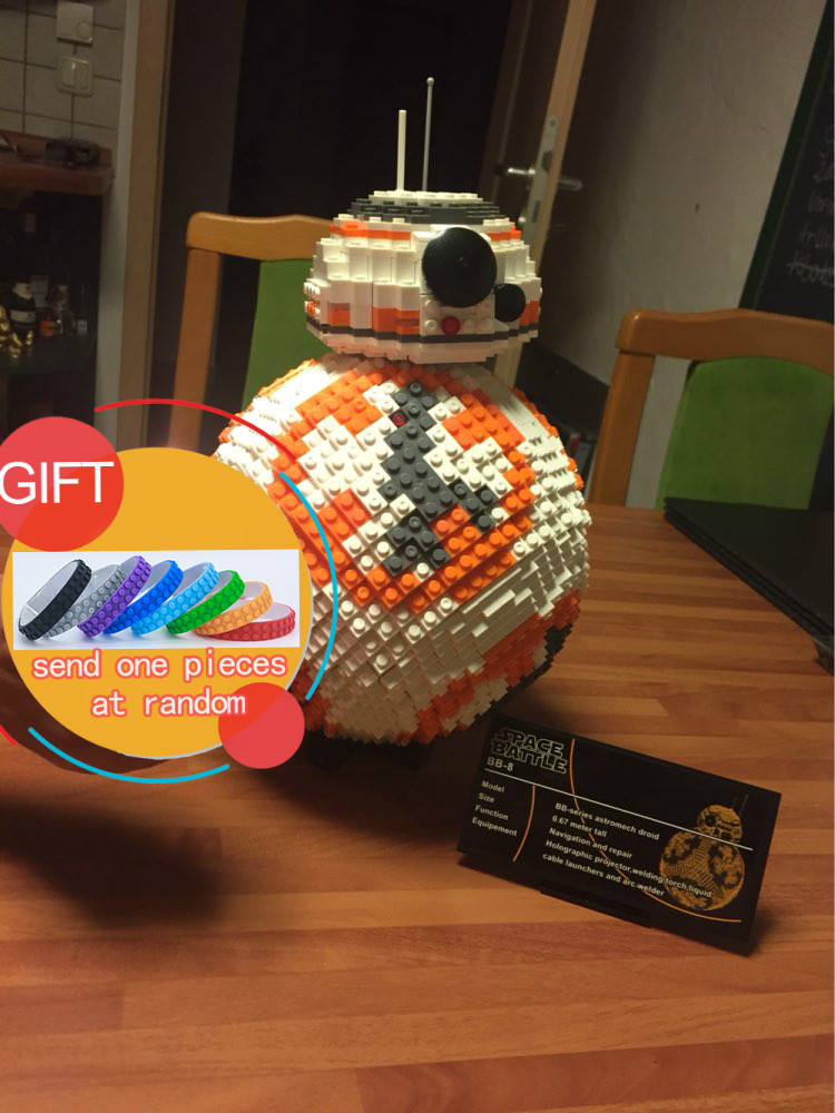 Star Warfare UCS the BB8  BB-8 model Building Bricks set Classic astromech droid Toy 35020 compatible 05033 05027 05046 lepin beate rossler the value of privacy