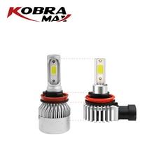KobraMax Car Lights COB Series H1 H3 H4 H7 Auto LED Light Automotive Parts Accessories