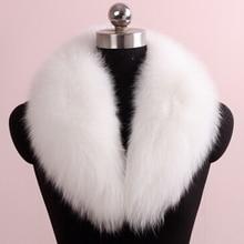 2015 Chopop Fur Genuine Fox Fur Collar Fox Fur Muffler Scarf  Women Real Fox Fur Accessories Wholesale Price 20 Colors