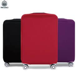 Inho рискованным Карамельный цвет путешествия Сгущает эластичный Чемодан чемодан защитная крышка одноцветное дорожные аксессуары For18 ~ 32