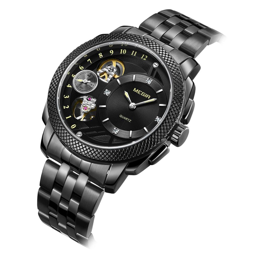 Relogio Masculino <font><b>2020</b></font> <font><b>MEGIR</b></font> Wrist Watch Men Watch Fashion Sport Waterproof Men's Watch Calendar Watches Clock reloj hombre image