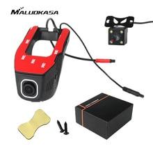 Wholesale MALUOKASA Novatek 96658 WiFi DVR Car Dash Cam with One/Dual Cameras 1080P Digital Video Recorder Night Vision G-sensor Camera