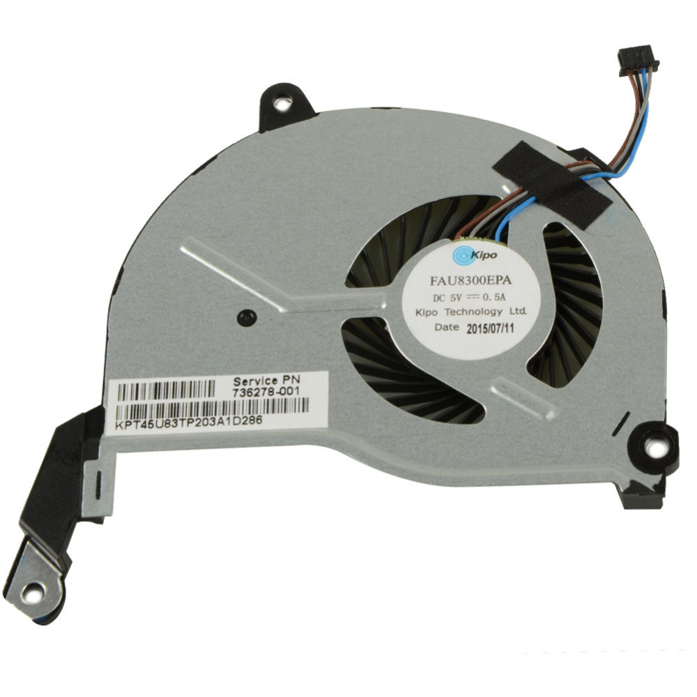 Notebook Computer Replacements Cpu Cooling Fans Fit For HP Pavilion 15-n000 Laptop (4-PIN) 736278-001 DFS200405010T купить