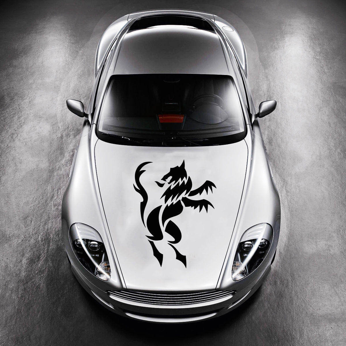 Car sticker design shop - Beautiful Animal Wolf Design Hood Car Vinyl Sticker Decals Art Murals Sv1553