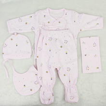 Designed Real Baby Dolls Clothes pink and Blue 5 pcs Doll Clothes Suit Fit 22-23 inch Reborn Baby Doll Accessories Kids DIY Toys