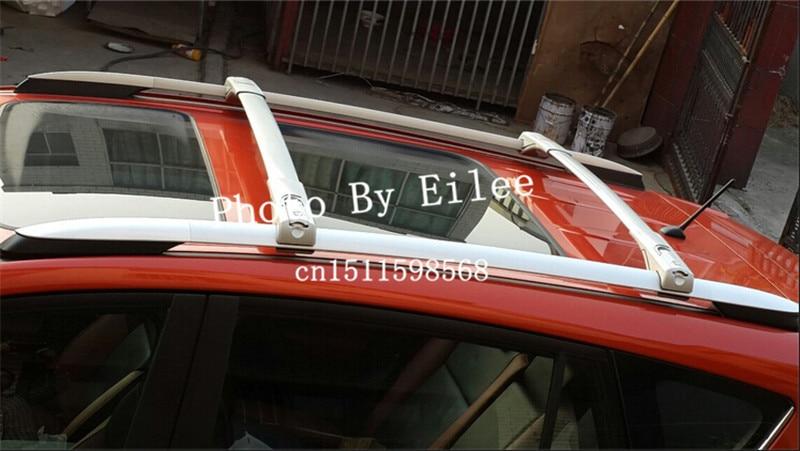 High quality Silver OEM ABS aluminium cross bar FIT FOR Toyota RAV4 2013 2014 2015 crossbar baggage luggage roof rack bar|roof rack bars|cross bar|roof rack - title=