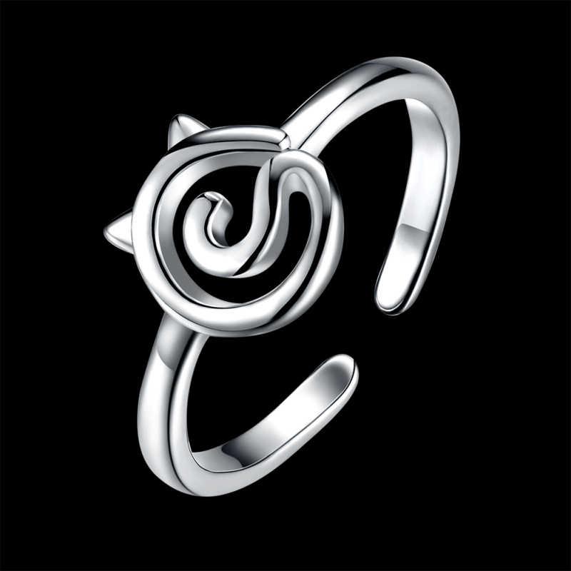 Garilina แฟชั่นรูปแมวเปิดแหวนสตรีแหวน R2234