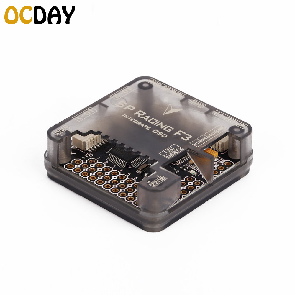 1pcs OCDAY SP Racing F3 Acro/DELUXE Flight Controller Integrated OSD for Racing Quadcopter FPV Multicopter rc helicopters toys spracing f3 acrd acro sp3 racing f3 flight controller board aircraft fpv quadcopter speed control for ocday