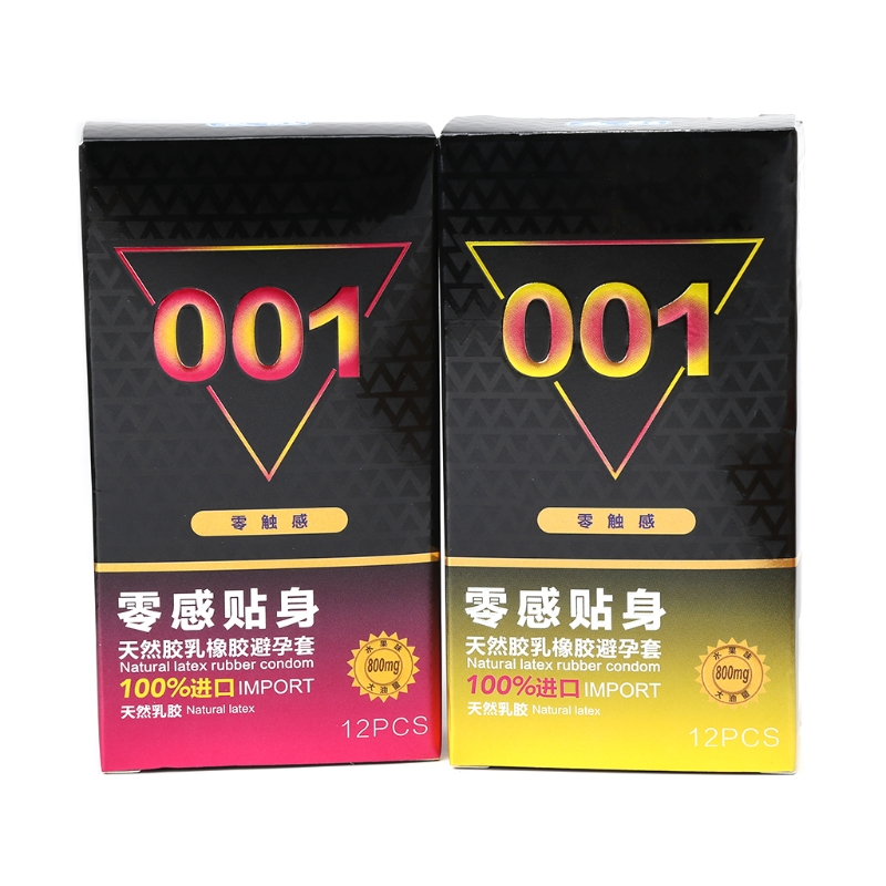 Sex Shop Products Condoms 12pcs Ultra Thin 001 Fine Condoms For Men Natural Latex Novelty Adult Sex Products Dropshipping Moderate Price Sex Products