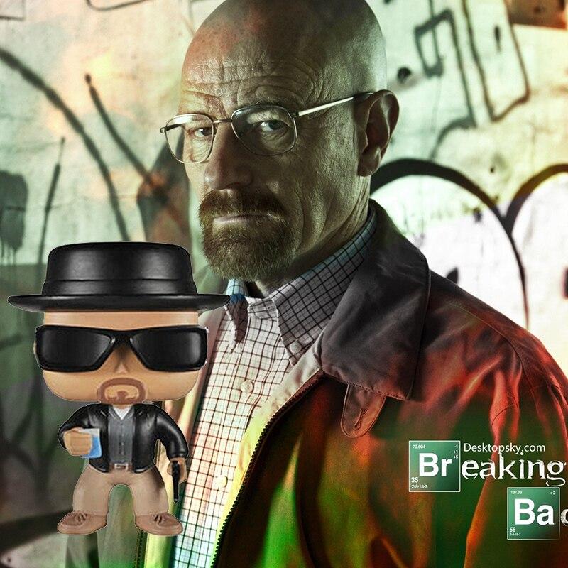 BREAKING BAD WALTER WHITE HEISENBERG FIGURE VINYL POP FUNKO SERIE TV SEASON #1