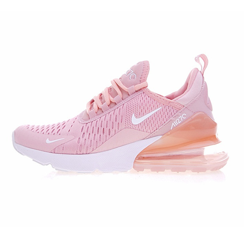 reputable site 9c989 64aee US $80.56 24% OFF|Nike Air Max 270 Women's Breathable Running Shoes  Sneakers Sport Outdoor Athletic 2018 New Women Designer Sneakers AH8050-in  Running ...
