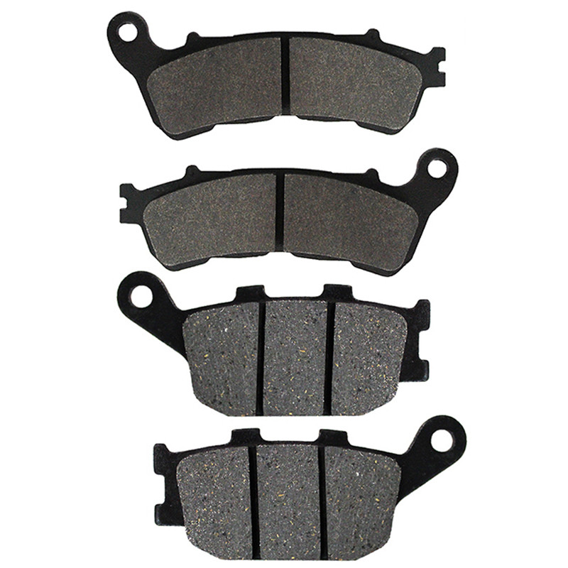 Motorcycle Front + Rear Brake Pads Disks for <font><b>Honda</b></font> <font><b>700</b></font> <font><b>Integra</b></font> Scooter 2011-2013 NC700 SC XAC XC NC <font><b>700</b></font> VT 1300 CXAA Fury ABS image