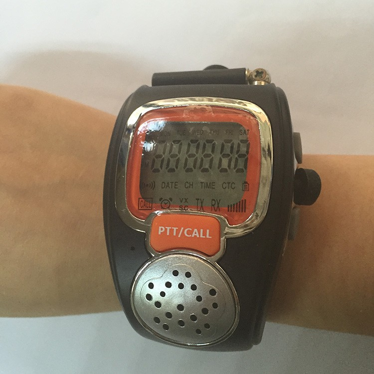 Rado Pair Two Wrist Watch Way Radios LCD Radio Walkie Talkie Watch For Portable Radio Set Handy Talkie Transceiver Radio Scanner  (12)
